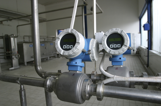 40mm Promag H Flowmeter Image Young Calibration