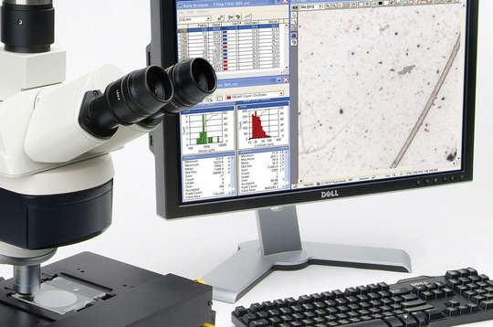 Particle Analysis Image Young Calibration